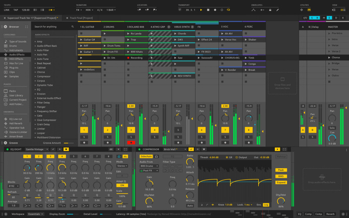 Ableton Live redesign