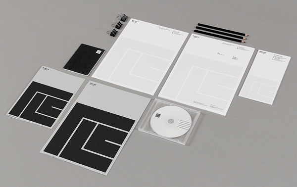 Matthew Hancock #swiss #white #design #graphic #black #monochrome #minimal #and #letterhead #logo #modernist
