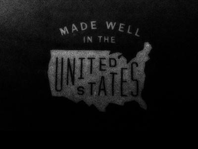 Dribbble - American Made by Matthew Genitempo #logo #identity #branding