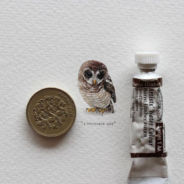 postcardsforants-0bis #miniature #painting