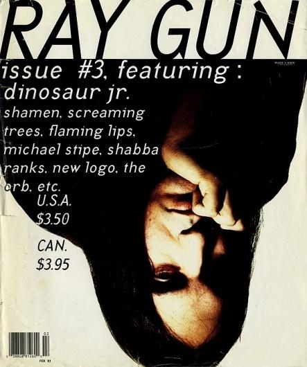 Raygun Magazine - Well Threaded #rock #dinosaur #carson #raygun #jr #alternative #david #magazine