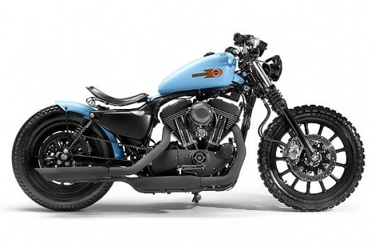Harley 1200 Sportster custom #vintage #bike #custom