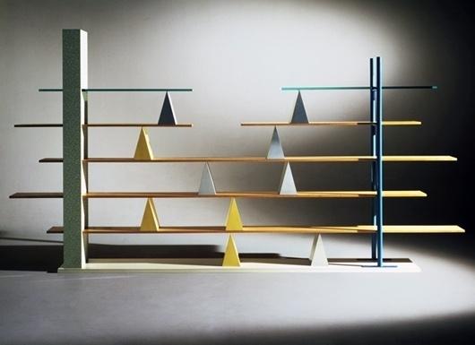 Branzi / shelves #design #de #glass #1981 #anti #shelves