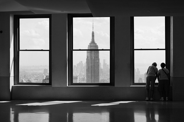 Top of the rock #white #rock #of #empire #top #black #the #window #photography #architecture #state #building #and #york #light #new