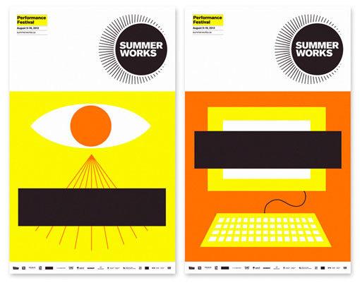 Monnet Design: SummerWorks 2012 #illustration #design #graphic