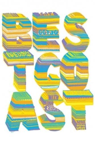GigPosters.com - Sonny And The Sunsets - Best Coast #screenprint #best #varmega #devon #coast