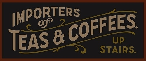 Expresh Letters Blog: Teas & Coffees #typography