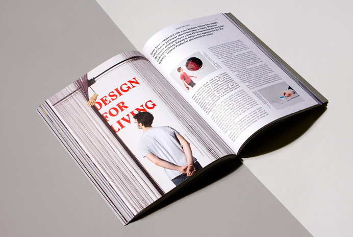 Bibliotheque - The Hour #print #publication #layout