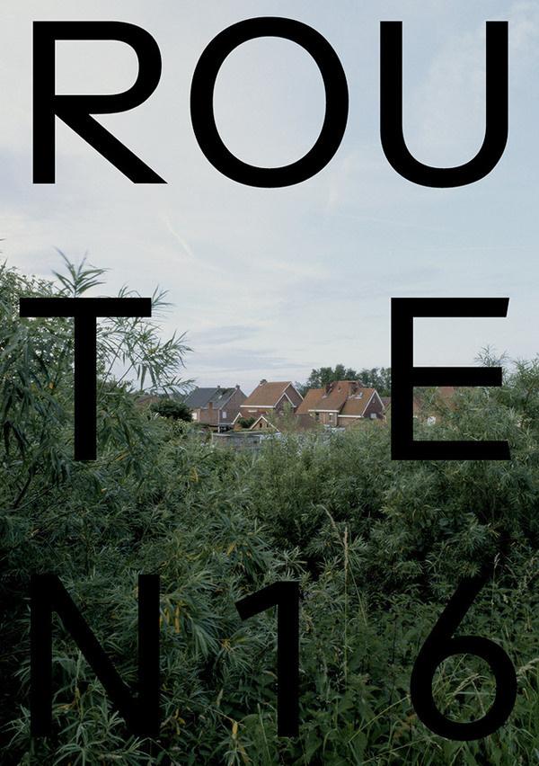 Route N16 Jurgen Maelfeyt #poster