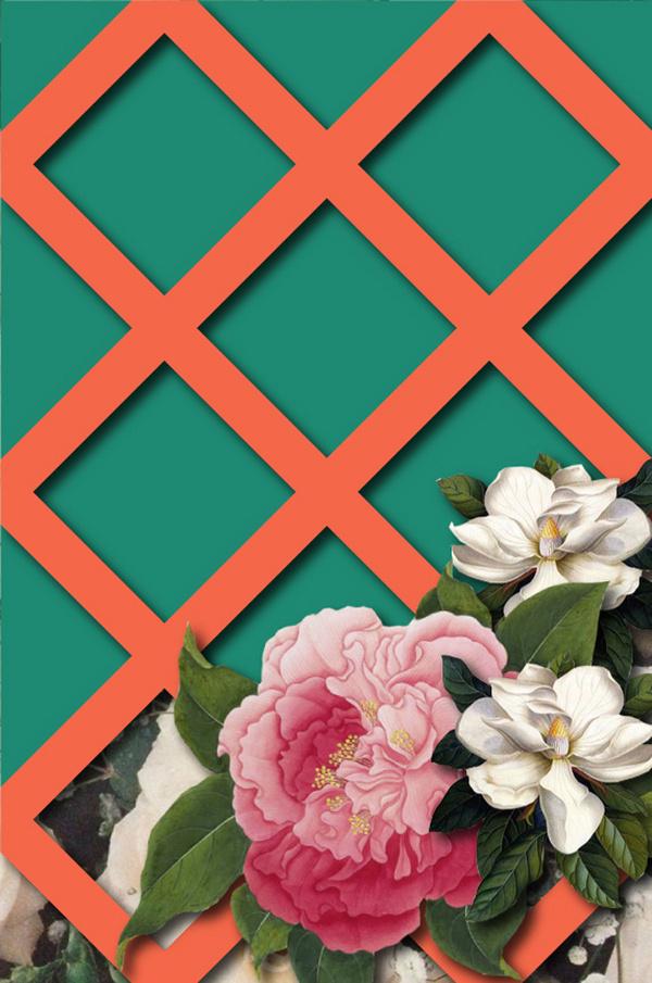 Posters : Adrineh Asadurian #camellia #lattice #magnolia #poster #flowers