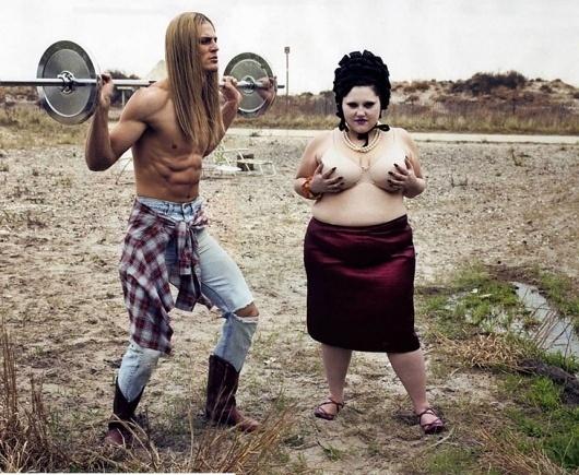 Size Zero | Paranaiv / Are Sundnes #blond #steven #beth #klein #long #hair #ditto #althres #man