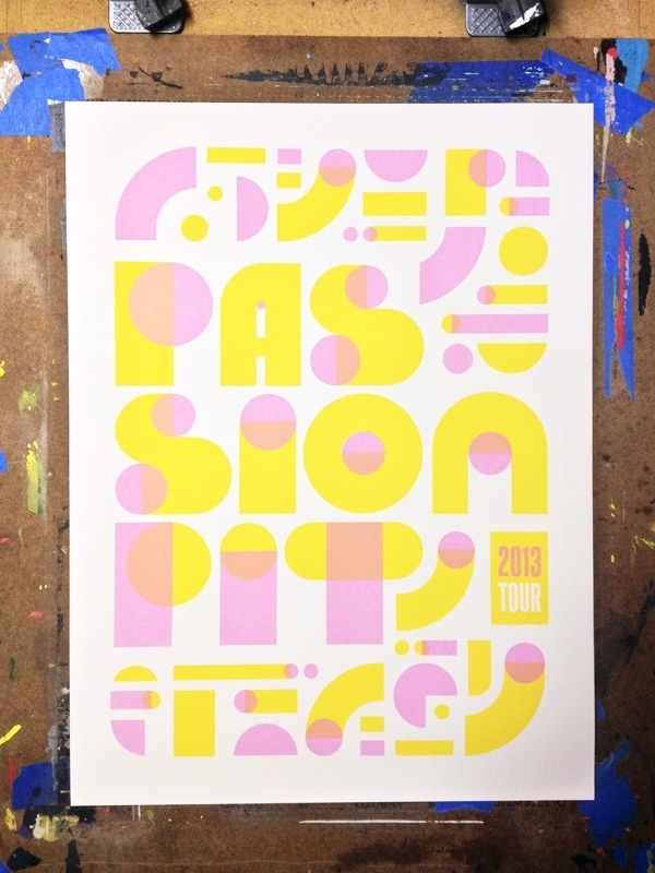 Passion Pit Tour Nerl Says Design #type