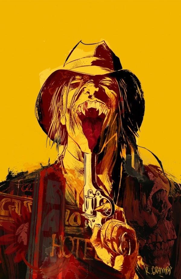 Rafael Albuquerque - American Vampire #rafael #vampire #albuquerque #american #comic #comics