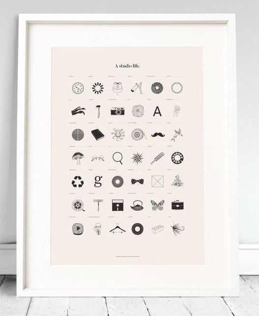 Fancy A Studio Life Print #print #studio