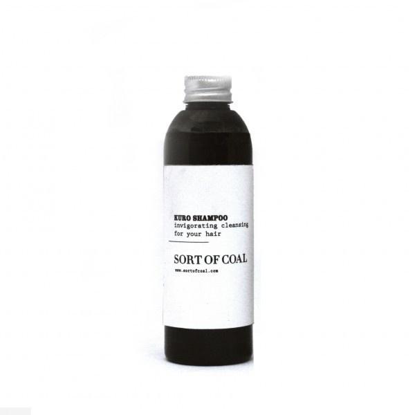 Sort of Coal : Kuro Shampoo #packaging #label #simple #minimal #type #typography