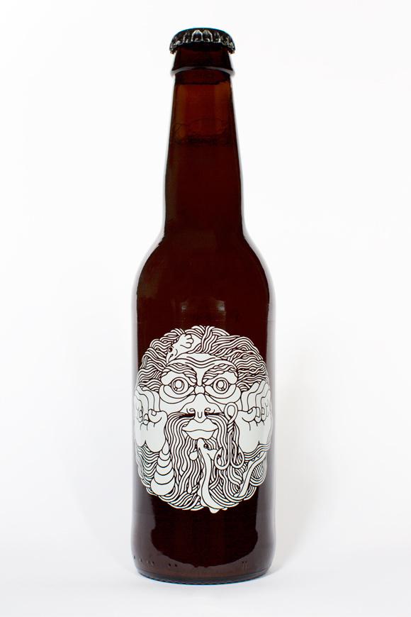 Omnipollo_bottle_Nacken #beer #bottle #packaging #design #graphic