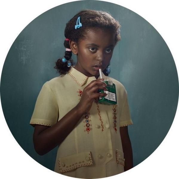 Smoking Kids by Frieke Janssens #inspiration #photography