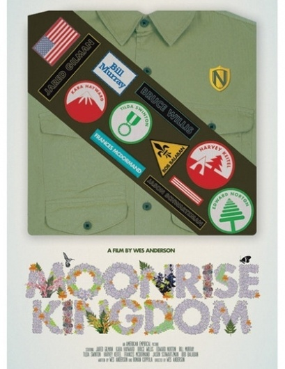 Wes Anderson Anticipation: Moonrise Kingdom Posters   Apartment Therapy #design #graphic #illustration #poster #typography