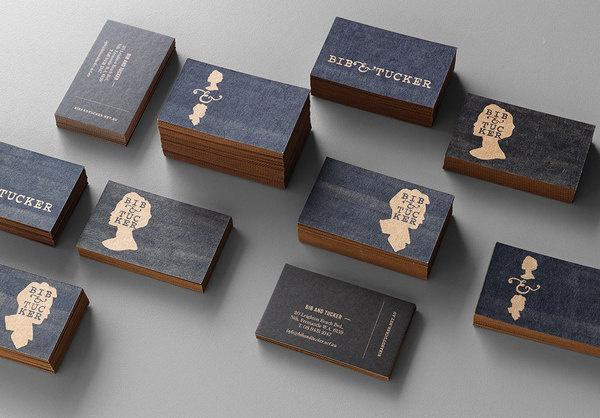 Bib & Tucker Business Cards #bib #business #& #tucker #stationery #cards