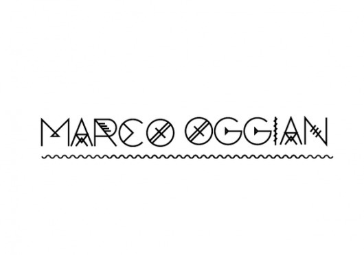 Marco Oggian Corporate on the Behance Network #type #vector #geometric #psicodelic
