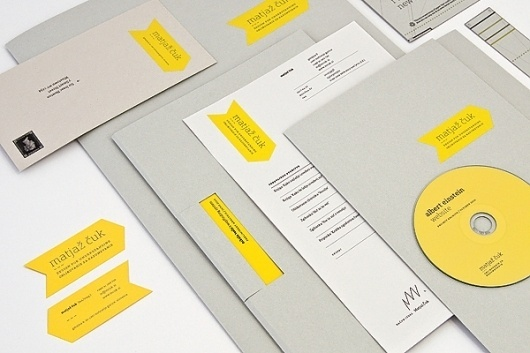 Looks like good Graphic Design by Matjaz Cuk #branding