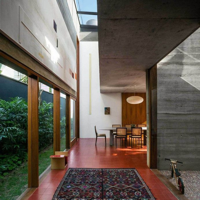 Brutalist-Inspired Concrete House in Sao Paulo by UNA Arquitetos 8