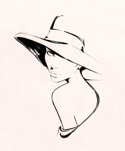 fswt0.jpg (JPEG Image, 760×918 pixels) #woman #girl #illustration #fashion #outline