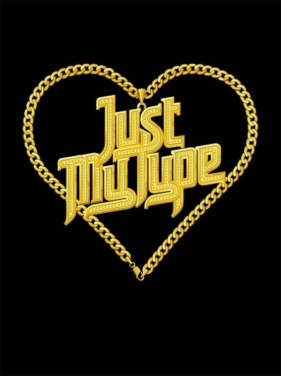 All sizes | Just My Type | Flickr - Photo Sharing! #lettering #vector #chain #gold #hand #typography