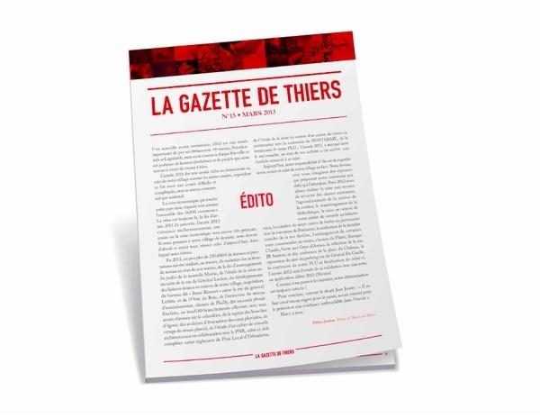 GAZETTE #layout #newspaper