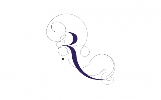 Si Scott Studio - Illustration / Graphic Design / Art #lines #purple #typography