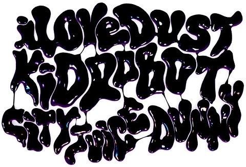 7d57e1d3c1abc1e0ddadf0764afb7fdcef4ca909_m.jpg 480×326 pixels #lettering #i #dust #kidrobot #love #typography