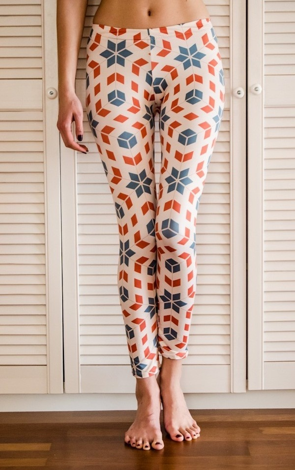 Vintage Art #fashion #pattern #leggins