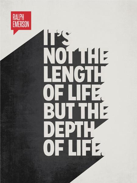 Minimalist Poster Quote Ralph Waldo Emerson #white #black #minimal #poster #and #typography