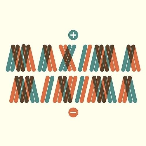 maxima / minima (+ / -) | Flickr - Photo Sharing! #type #minima #maxima #typography