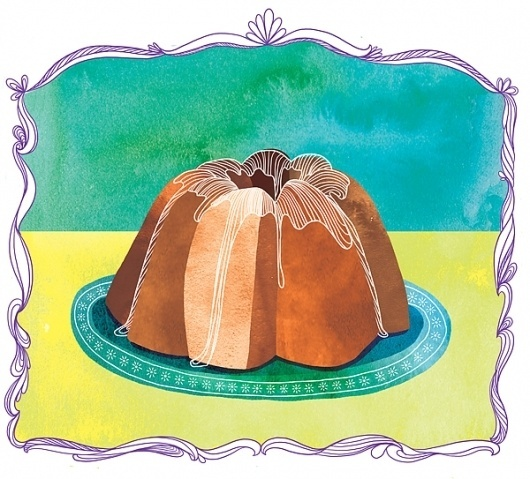 Marisa Seguin Illustration & Design #dessert #illustration #texture