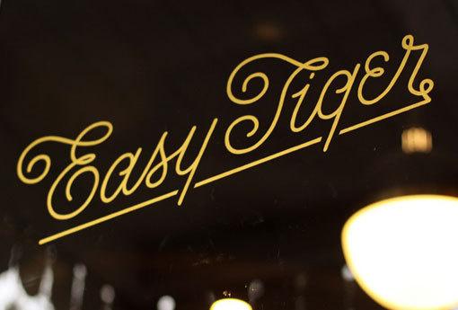 land_easytiger_01 #interior #identity #restaurant #bar