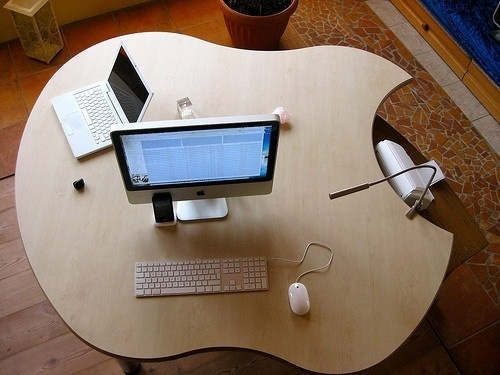 Apple Office #apple #office #desk