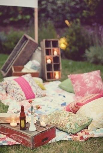 Romantic #photography #picnic