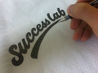 Success lab by Sergey Shapiro #inspiration #creative #lettered #personalized #design #illustration #logo #hand