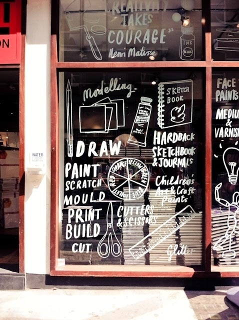 Amy Walters: Window Shopping #window #drawn #hand