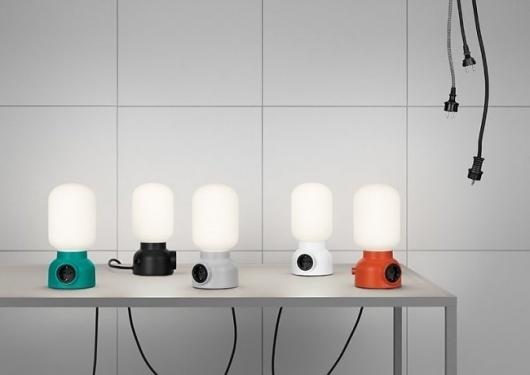 PLUG LAMP DE ATELJÉ LYKTAN #interior #sweden #design #lamps #lighting