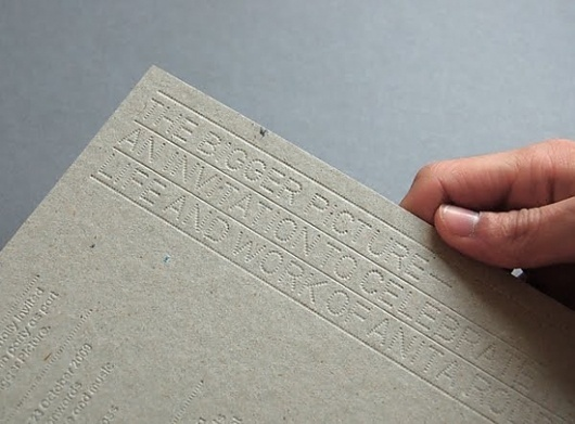 Labor and Curse #card #letterpress #typography