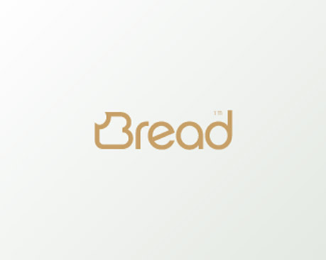 #logo #simple #creative #unexpected #conceptual #graphic #design #bread #thin #line #gold #rounded #sansserif #sans