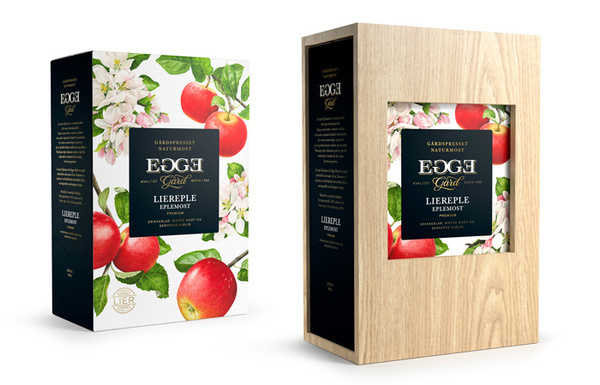 Egge Gård #packaging #drink #box