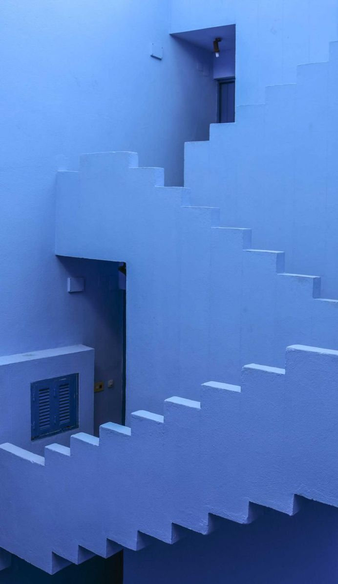 Aesthetic and Color Pop Architecture Photos by Tekla Evelina Severin