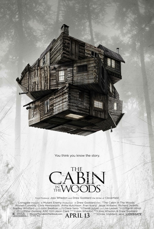 The Cabin in the Woods: Extra Large Movie Poster Image - Internet Movie Poster Awards Gallery #movie #poster