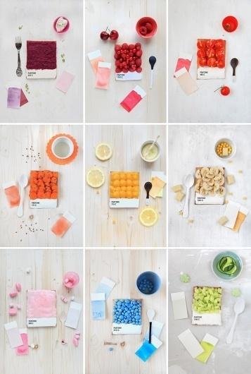 color. #beakfast #design #food #vintage #pantone #cute #still #life