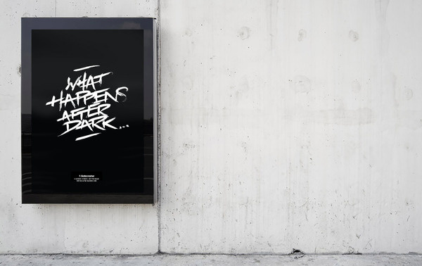 Nightclub Poster | tomsears.me #sears #lettering #design #graphic #tom #poster #typography