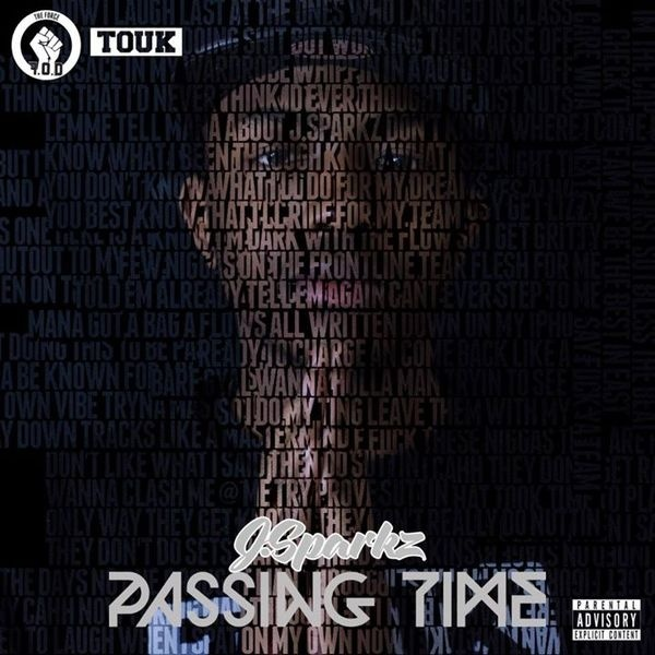 J.Sparkz - Passing Time cover #album #design #graphic #hiphop #photography #portrait #art #typography