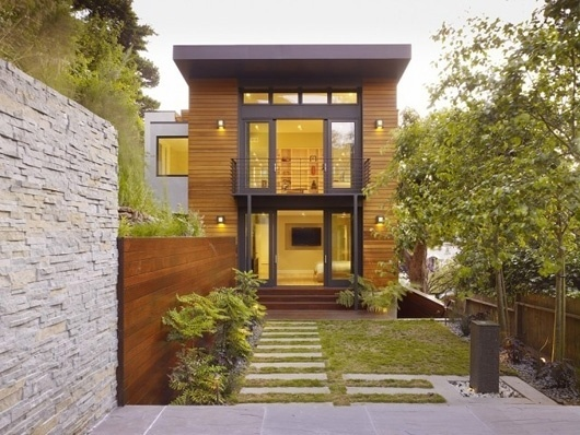 Cole Valley Hillside Residence #san #wood #architecture #francisco #valley #residence #cole